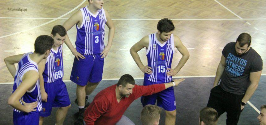 Meciuri la Oradea pentru baschetbaliști
