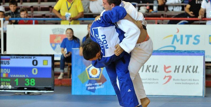 """Doi judoka de la """"U"""" se bat la competiții europene"""