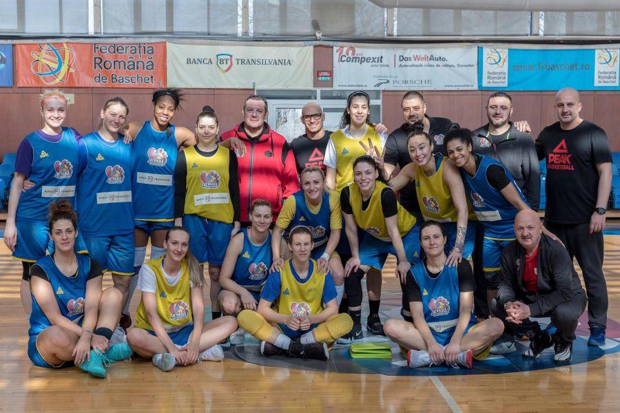 Sursă foto: Profil Facebook Echipa națională de baschet feminin