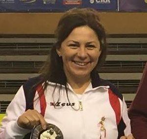 Gianina Andreica – antrenoare în cadrul secției de judo