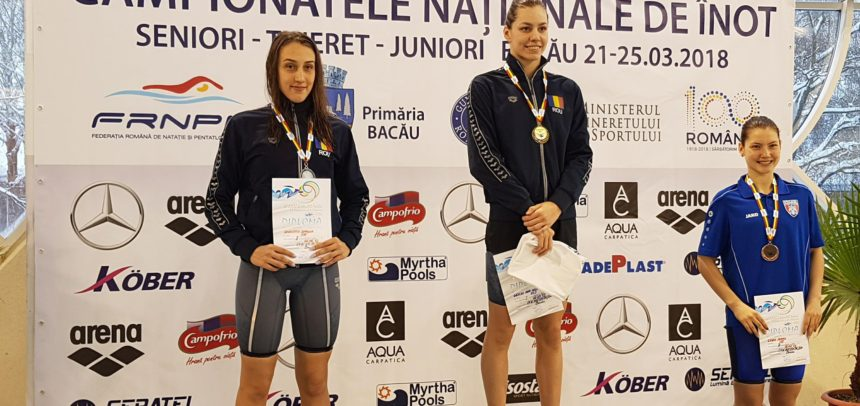 15 medalii la Campionatul Național de la Bacău