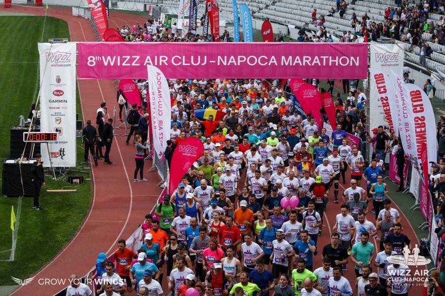 Sursă foto: Facebook Wizz Air Cluj-Napoca Marathon