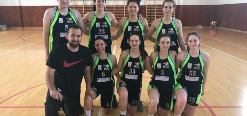 Echipa a doua de baschet feminin, locul 1 la turneul final sateliți