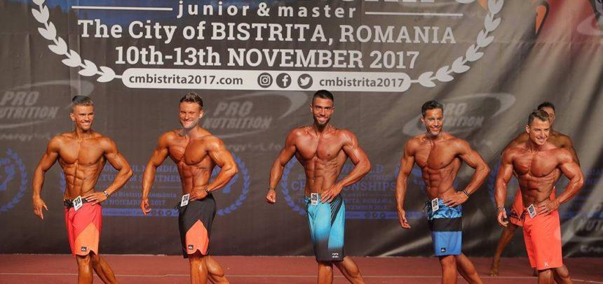 Cinci sportivi își încoardă mușchii la Campionatul Balcanic