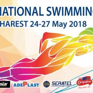 Cinci înotători concurează la Campionatele Internaționale din București