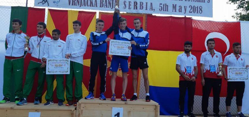Marius Dumitru, campion balcanic cu echipa la alergare montană