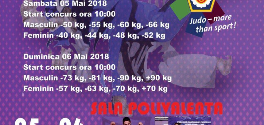 Peste 600 de judoka la Cupa Europeană U18 de la Cluj