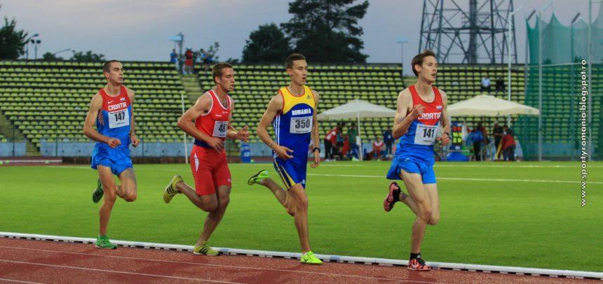 Marius Dumitru aleargă la Campionatul European