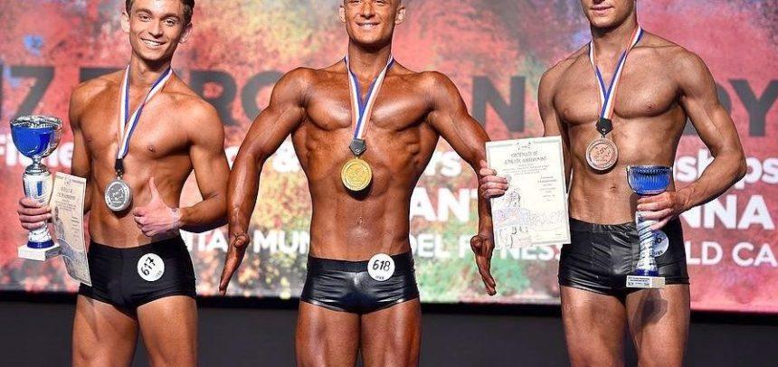 """Patru sportivi de la """"U"""" la Campionatele Europene de Culturism&Fitness"""