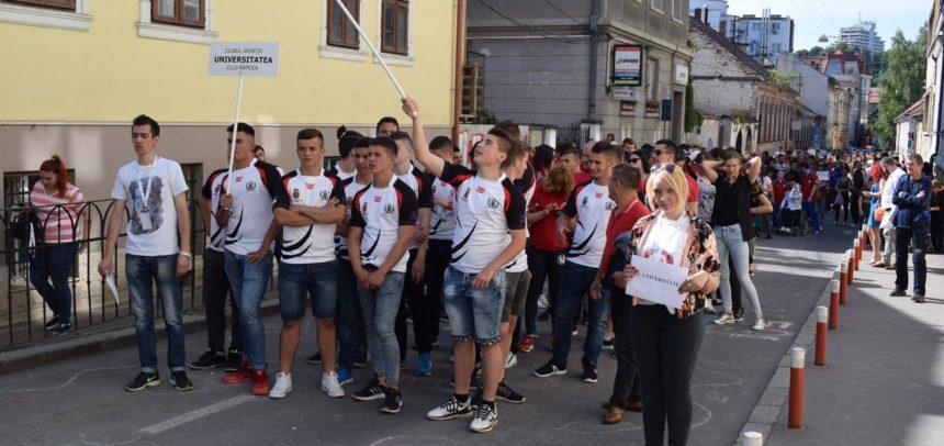 """CS """"U"""" Cluj va fi prezent la """"Parada Sportivilor"""""""
