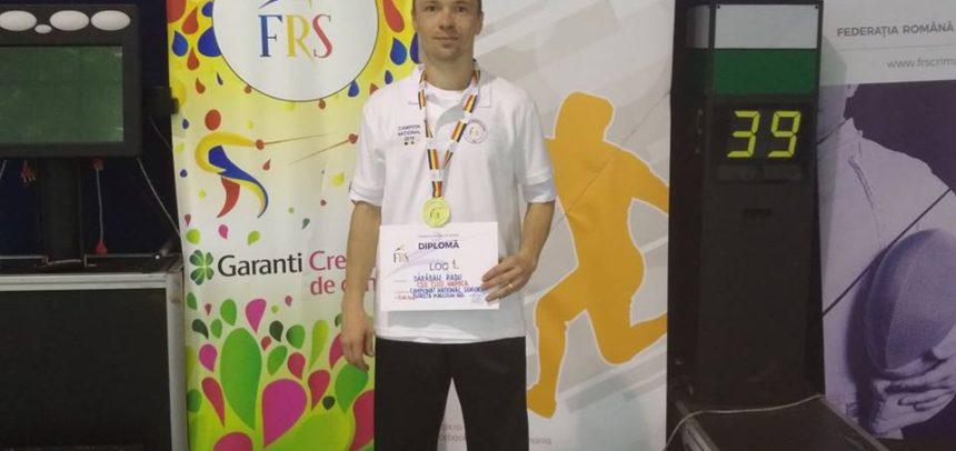 Titlul cu numărul 9 pentru Radu Dărăban