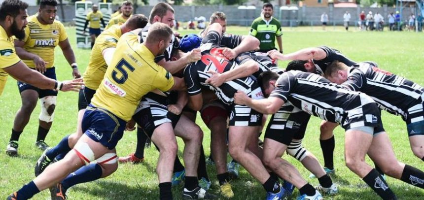 Rugbyștii au cedat la Timișoara