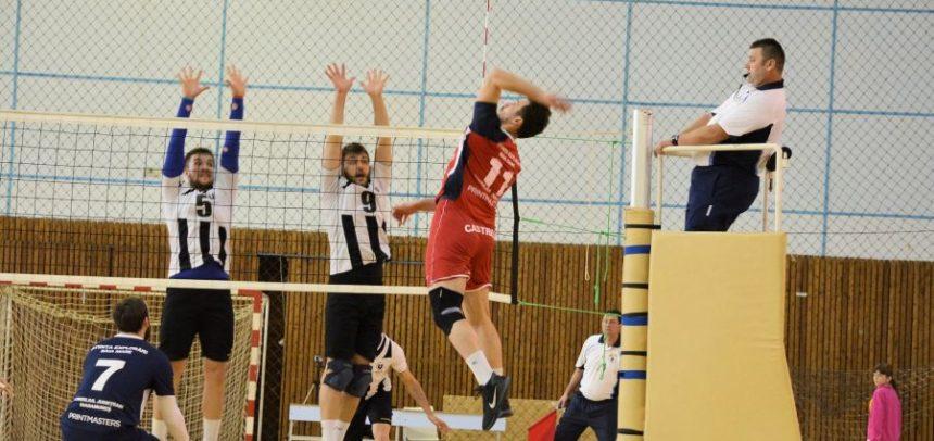 Voleibaliștii au încheiat campionatul la Baia Mare