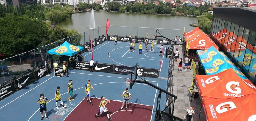 Baschetbaliștii participă la Superbet Tulcea Streetball