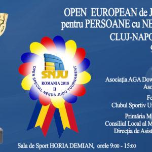 Open European de Judo Adaptat la Cluj