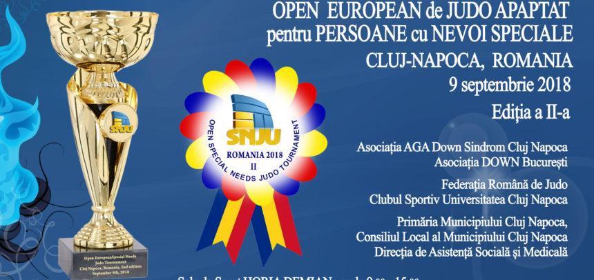 Open-ul European de Judo Adaptat are loc duminică