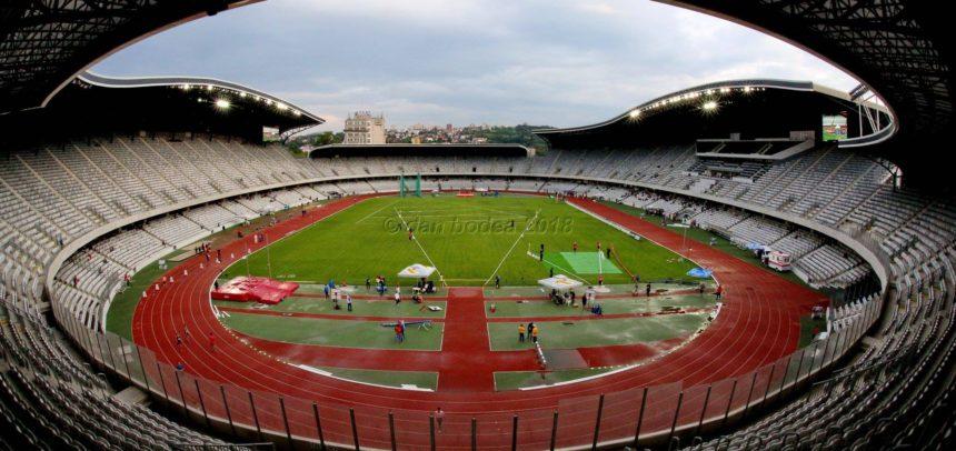 Concurs test de atletism pe Cluj Arena