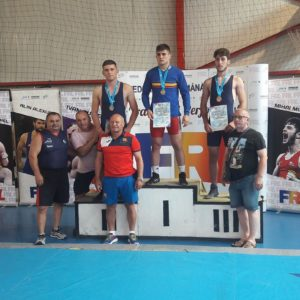 Trei medalii la finala CN Individual de lupte