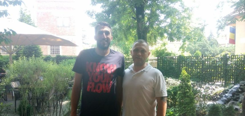 Marius Șoloc, primul transfer la echipa de volei masculin