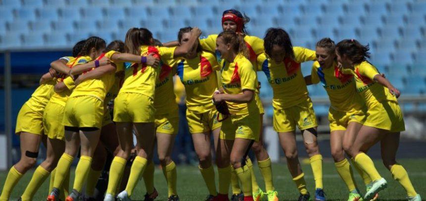 Naționala feminină de rugby a ocupat locul 4 la Dnipro