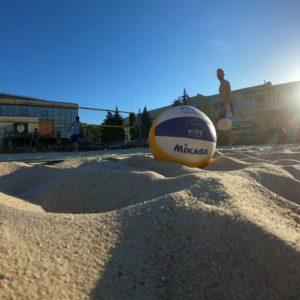 Clasarea voleibaliștilor la Openul de la Arad