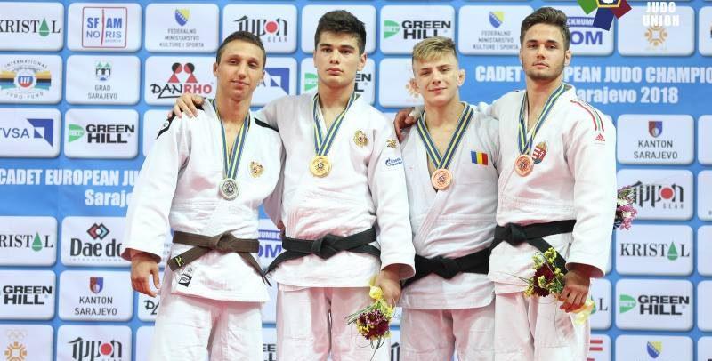 Adrian Șulcă, bronz la Campionatul European