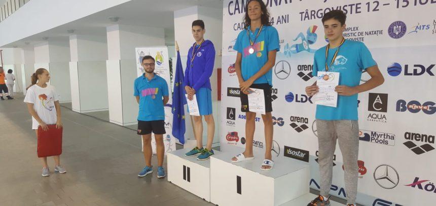 4 medalii la 4 probe pentru Marius Veiss