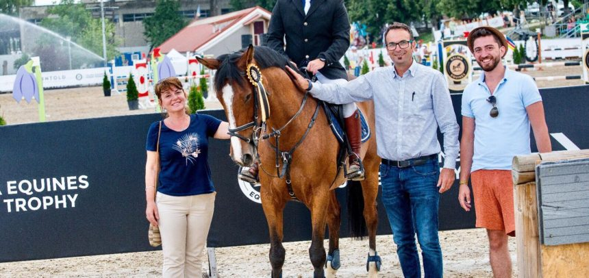 Clasări pe podium la Salina Equines Horse Trophy