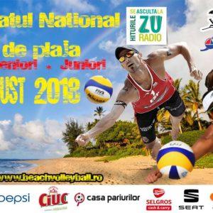 Cinci echipe, în finala CN Beach Volley