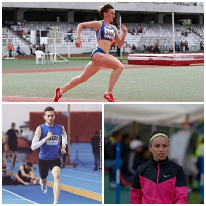 Trei atleți universitari participă la CE de la Berlin