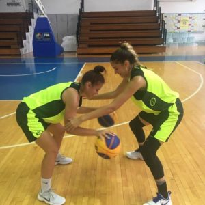 Turneu amical la Tg. Mureș pentru baschetbaliste