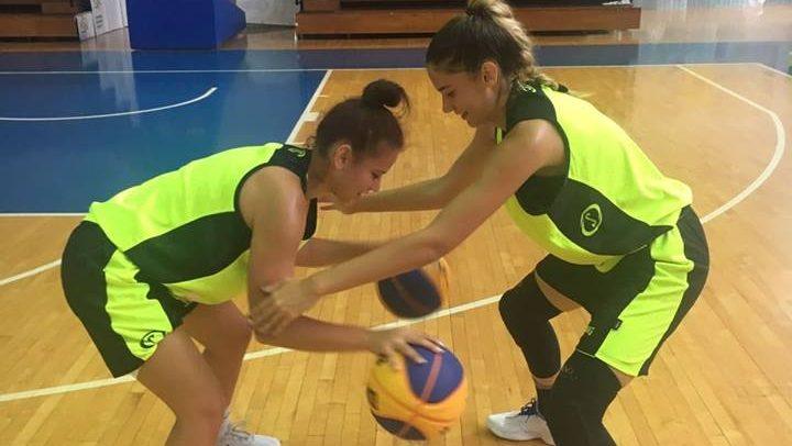 Carmin Popa și Petra Irimieș sunt la Naționala U18 de 3×3