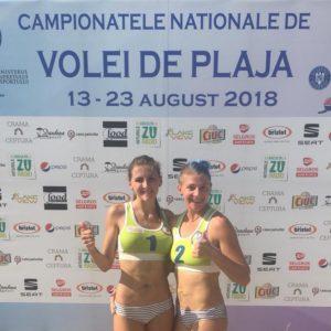 Medalie de argint și bronz la CN de Volei pe Plajă