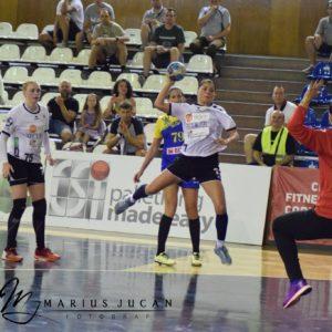 Handbalistele, victorie in amicalul cu Minaur