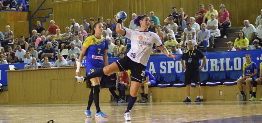 Handbalistele au cedat în prima etapă din Liga Florilor