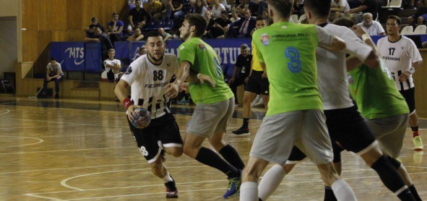 Handbaliștii au cedat în prima etapă din Liga Zimbrilor