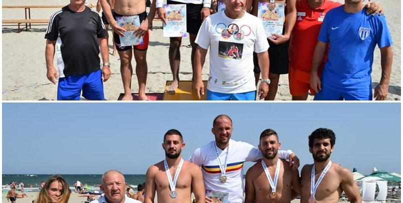 Moigrădean și Boieriu, pe podium la Lupte pe Plajă