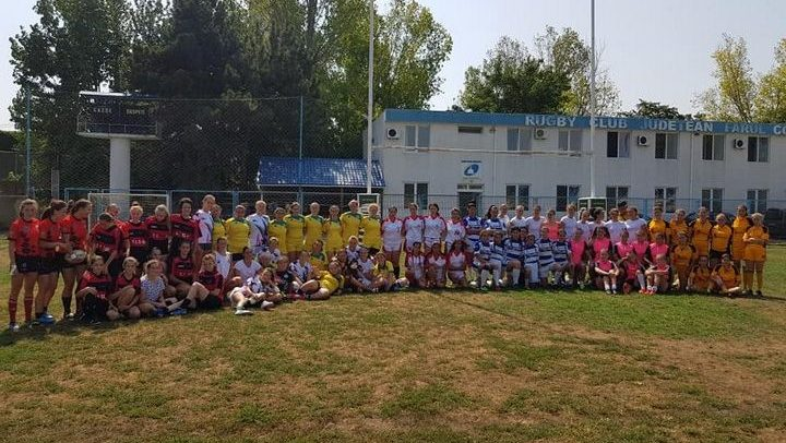 Poli Iași a câștigat etapa CN de Rugby 7 feminin de la Constanța