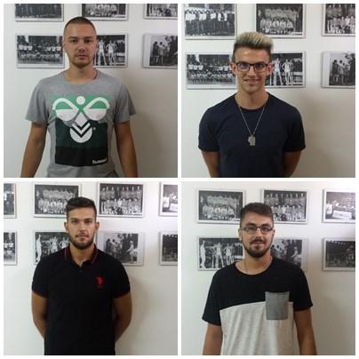 Patru transferuri la echipa de handbal masculin