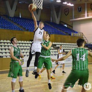 Baschetbaliștii U20 au încheiat campionatul pe locul 3