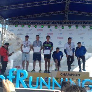 """Echipa CS """"U"""", locul 2 la CN de Maraton"""