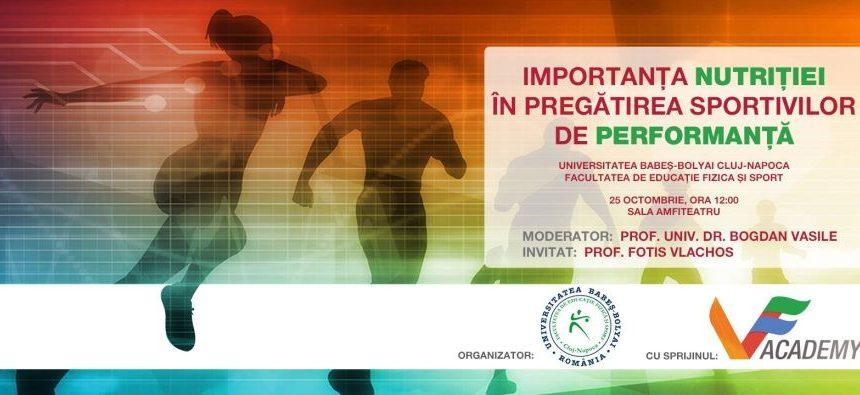 Importanța nutriției în pregătirea sportivilor de performanță