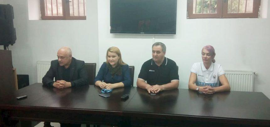 """Declarații de la conferința de presă a """"U"""" NTT Data Cluj"""