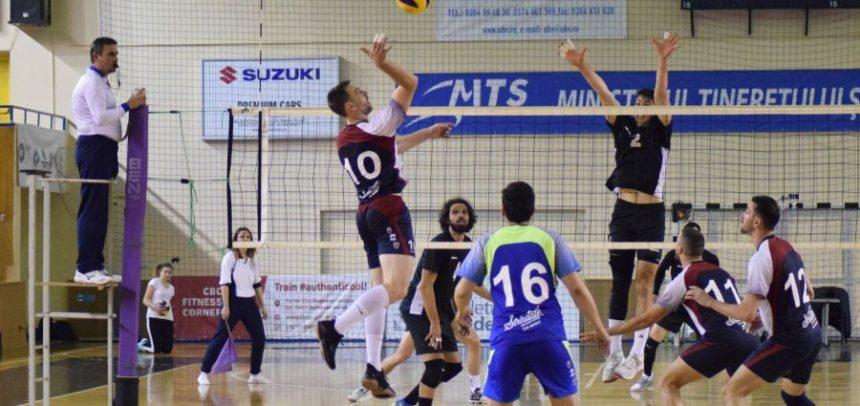 Meci cu nou-promovata Câmpia Turzii pentru voleibaliști
