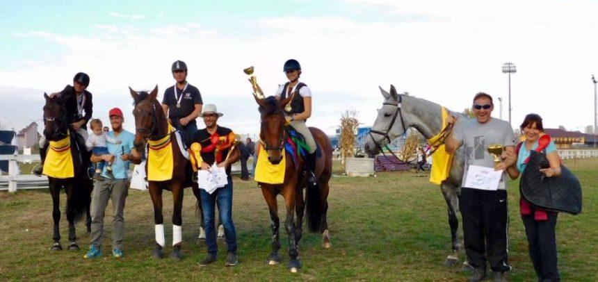 Medalii de aur și argint în finala de Concurs Complet