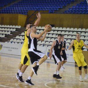 Două victorii consecutive pentru baschetbaliștii U20