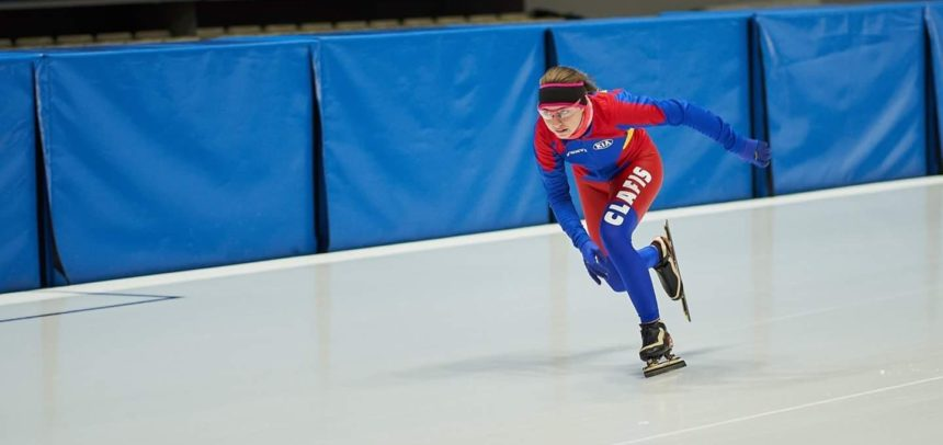 "Ilka Fuzesy  participă la ""International Speed Skating Competition"""