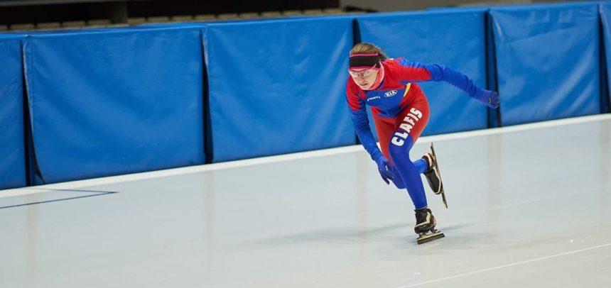 Ilka Fuzesy patinează la Cupa Mondială de juniori