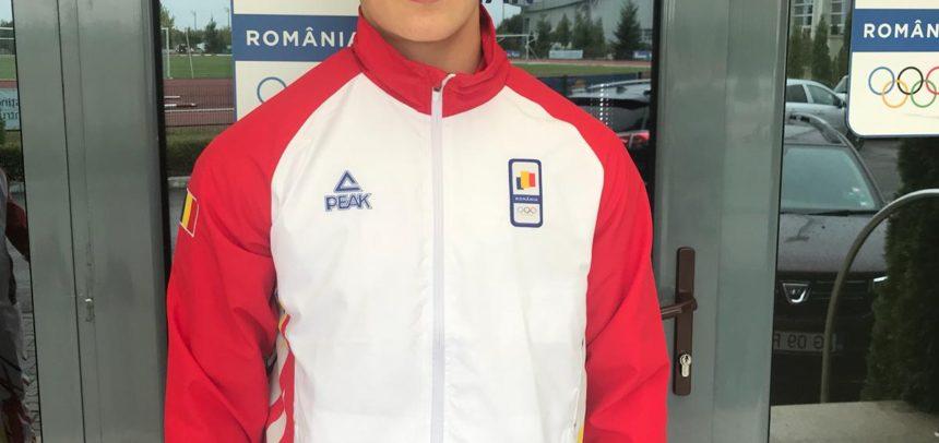 Adrian Șulcă se bate azi la Jocurile Olimpice de Tineret