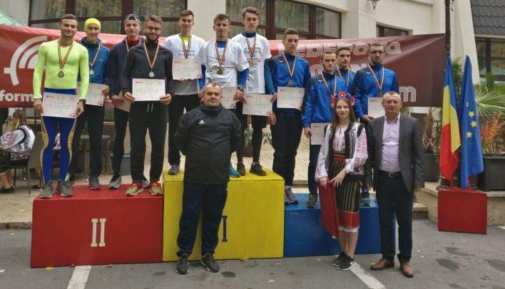 Echipa de tineret, vicecampioană națională la cros